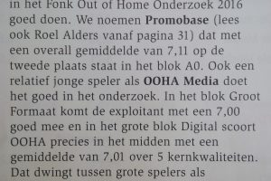 OOHA MEDIA fonk OOH 2016