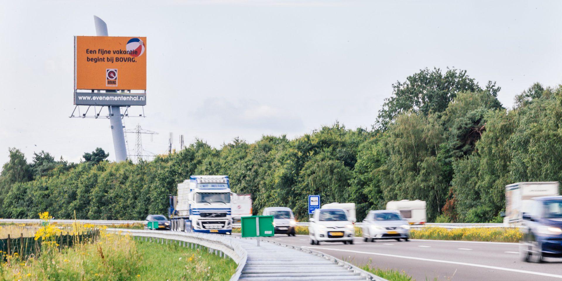 A73 snelwegreclame