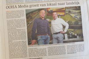 OOHA Media groeit van lokaal naar landelijk