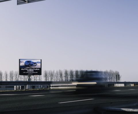 Reclamemast A58 Goes
