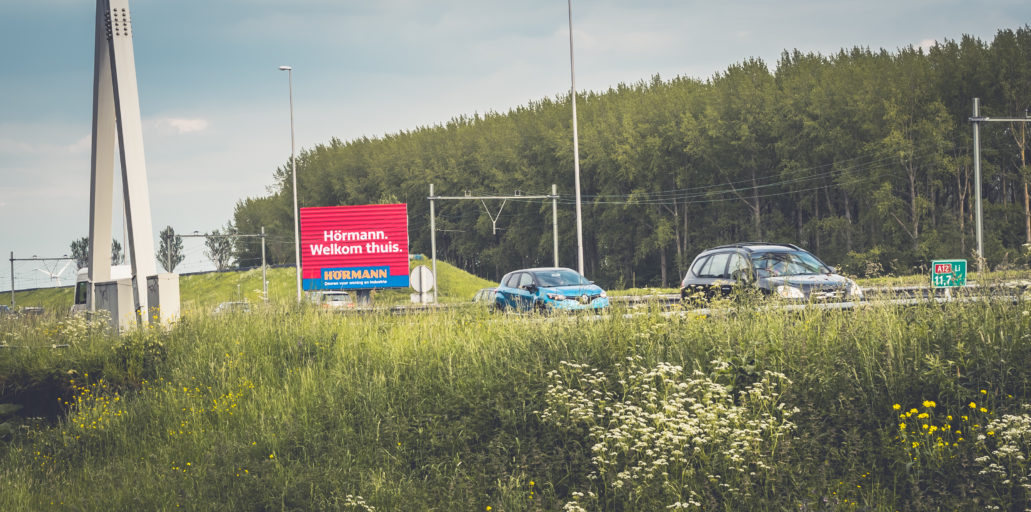 Hormann snelwegreclame A12