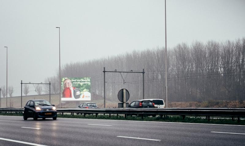 NSGK A12W snelwegreclame