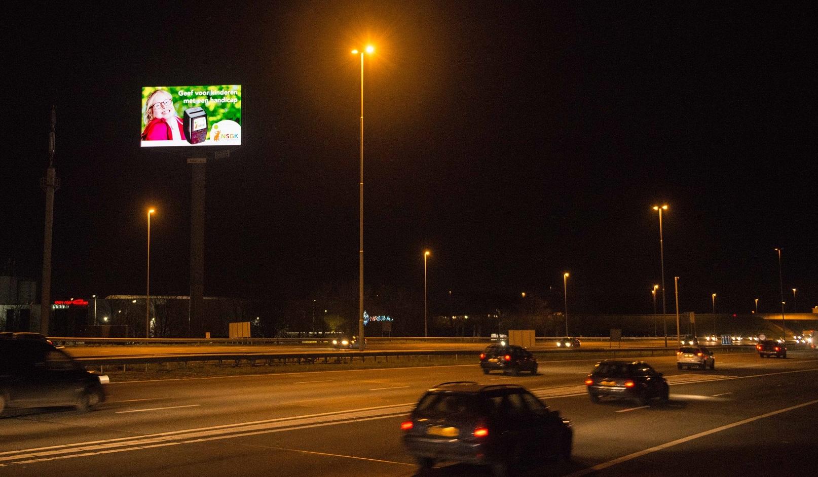 NSGK A2N snelwegreclame