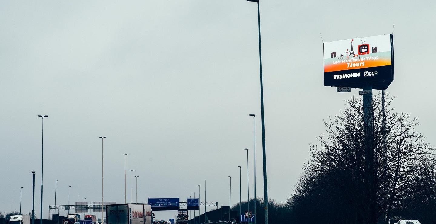MBPA Goede traffic cijfers op de website door digitale snelwegreclame