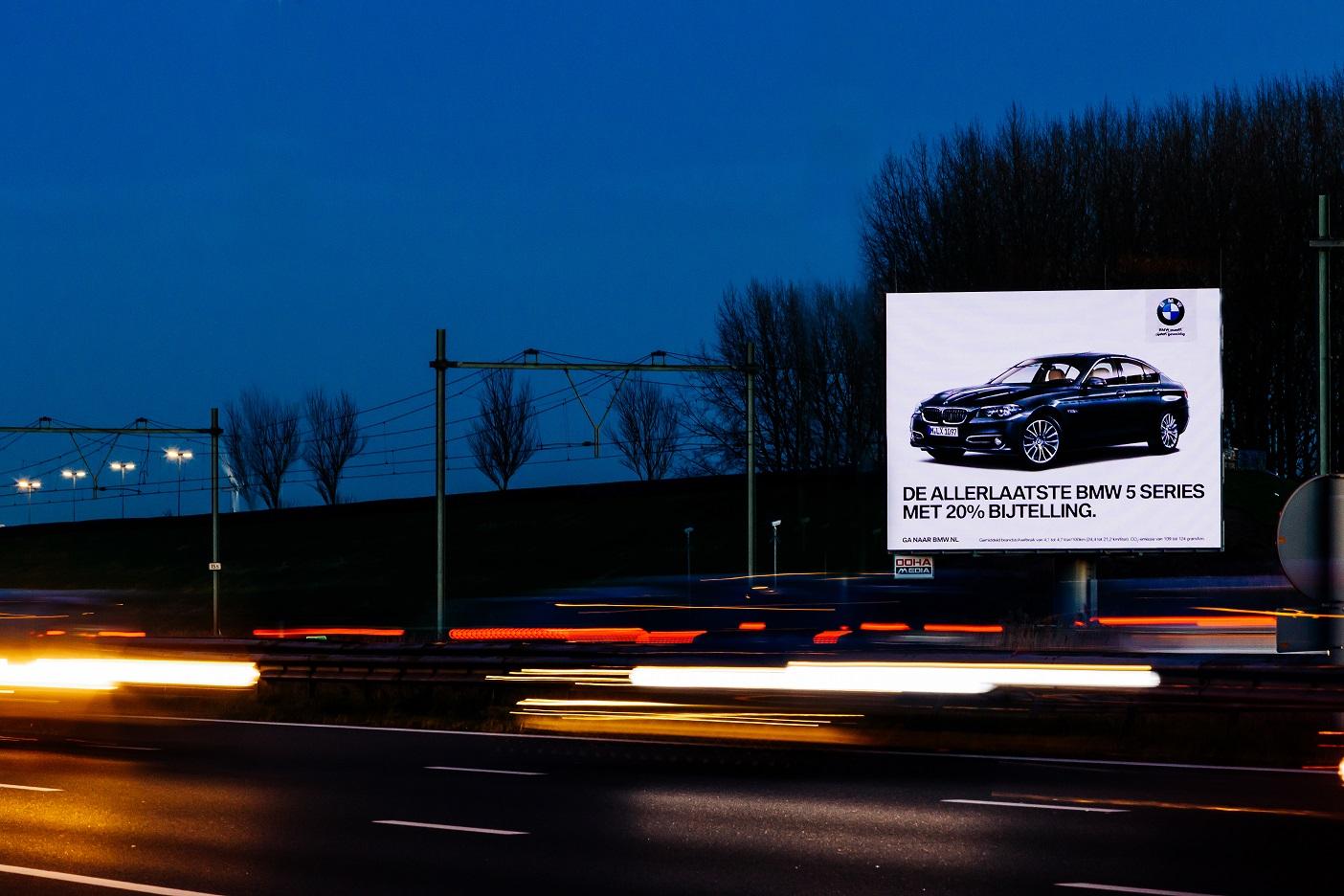 De mogelijkheden van digitale snelwegreclame