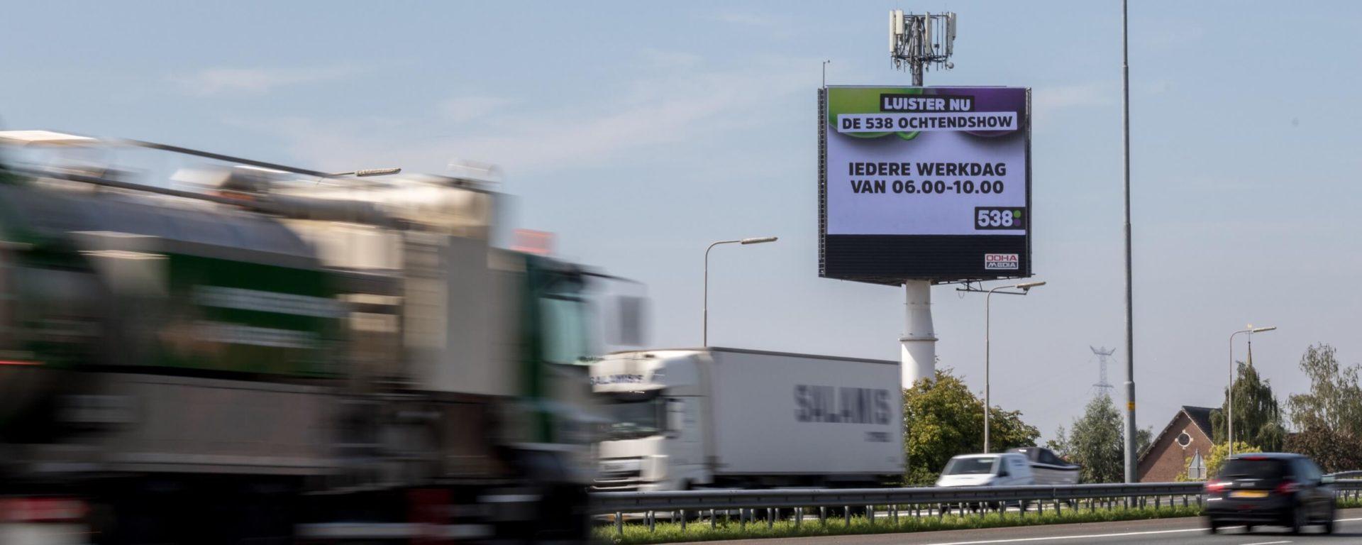 Snelwegreclame A15 Hardinxveld – Giessendam